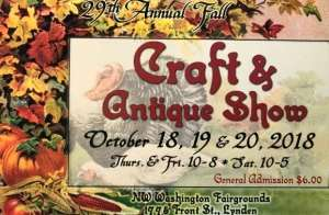 29th Annual Fall Craft & Antique Show @ Northwest Washington Fair and Event Center | Lynden | Washington | United States