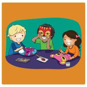 Mask Making for Kids @ WCLS Sumas Library   Sumas   Washington   United States