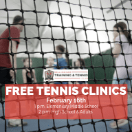 Free Tennis Clinics at Bellingham Training & Tennis Club @ Bellingham Training & Tennis Club