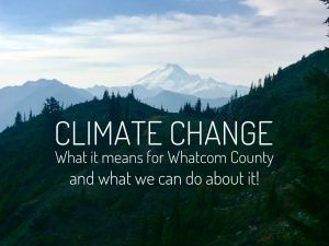 Climate Change: What it means for Whatcom County @ Nooksack Salmon Enhancement Association