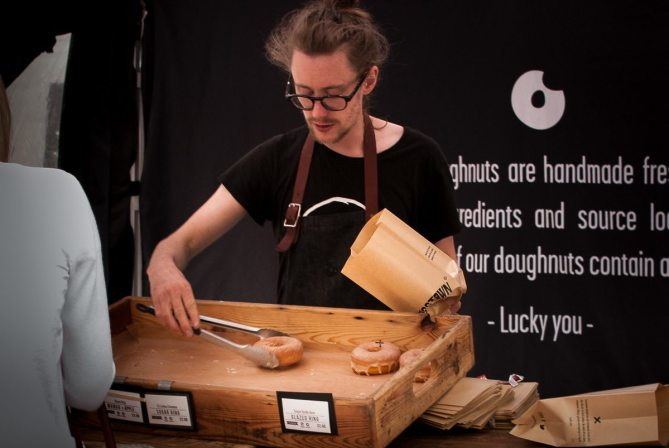 Crosstown Doughnuts, Clerkenwell Road by What Dad Cooked