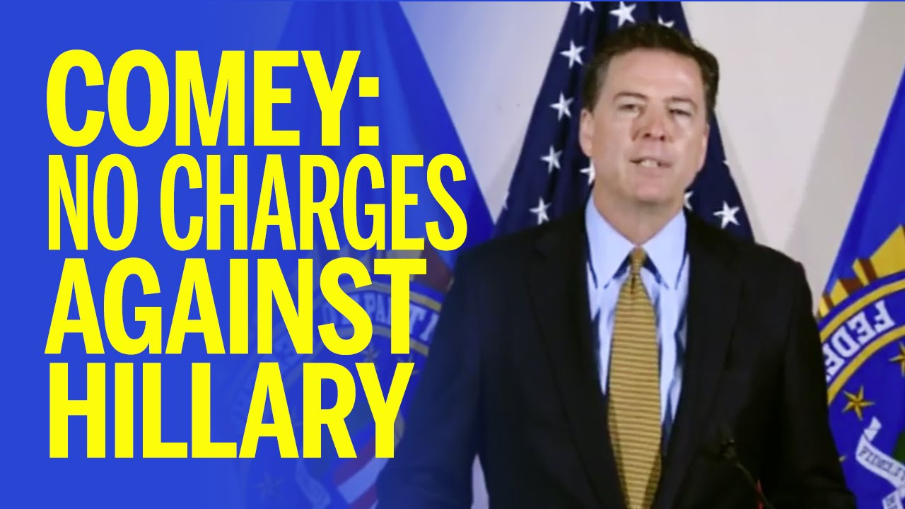 Image result for Criminal Hillary wins election, comey investigation continues