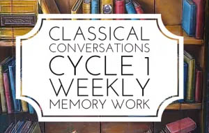 Classical Conversations Cycle 1