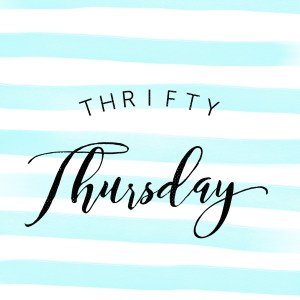 Thrifty Thursday - What Faith Can Do