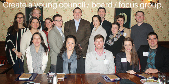 Create a young council - board - focus