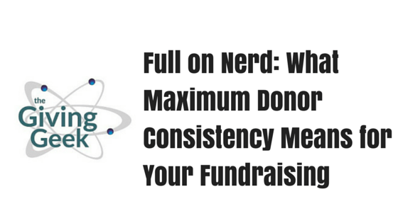 Full on Nerd- What Maximum Donor