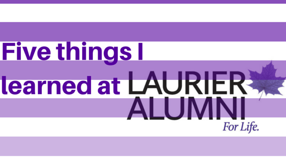 5 things I learned at Laurier