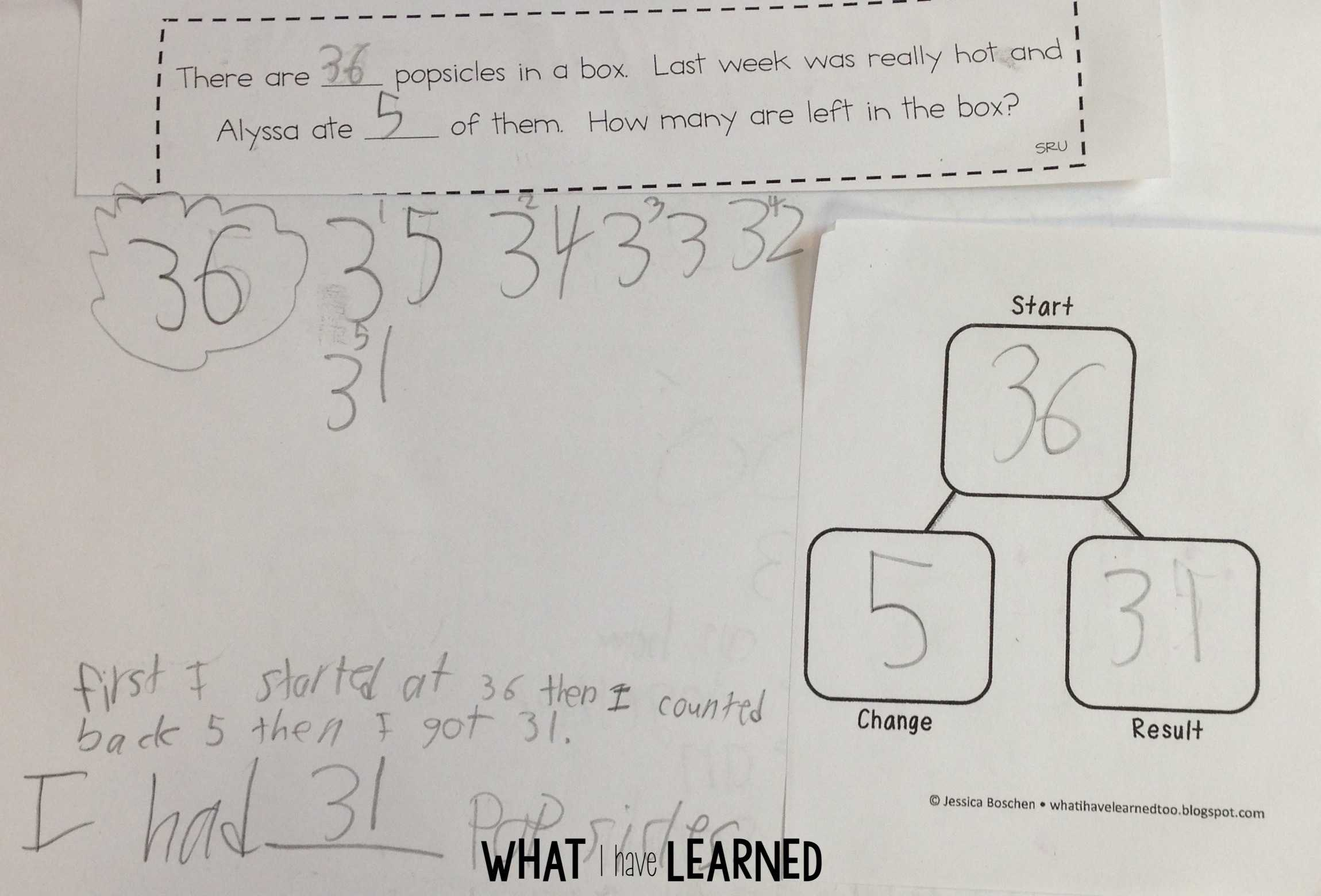 First Grade Math Problem Solving Math Problem Solving