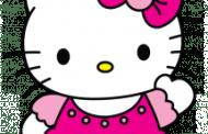 Steps to make Hello Kitty sketch outline