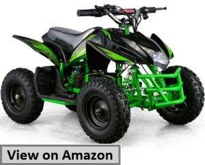 Titan 24V Black Mini Quad ATV