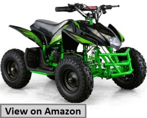 Titan 24V Black Mini Quad ATV