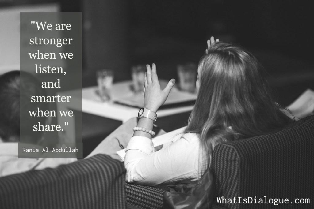 stronger when we listen