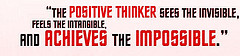sayings on thinking-positive