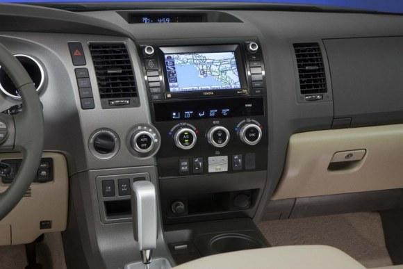 2014 Toyota Sequoia Platinum interior