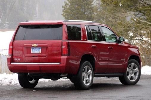 2015 chevrolet tahoe back