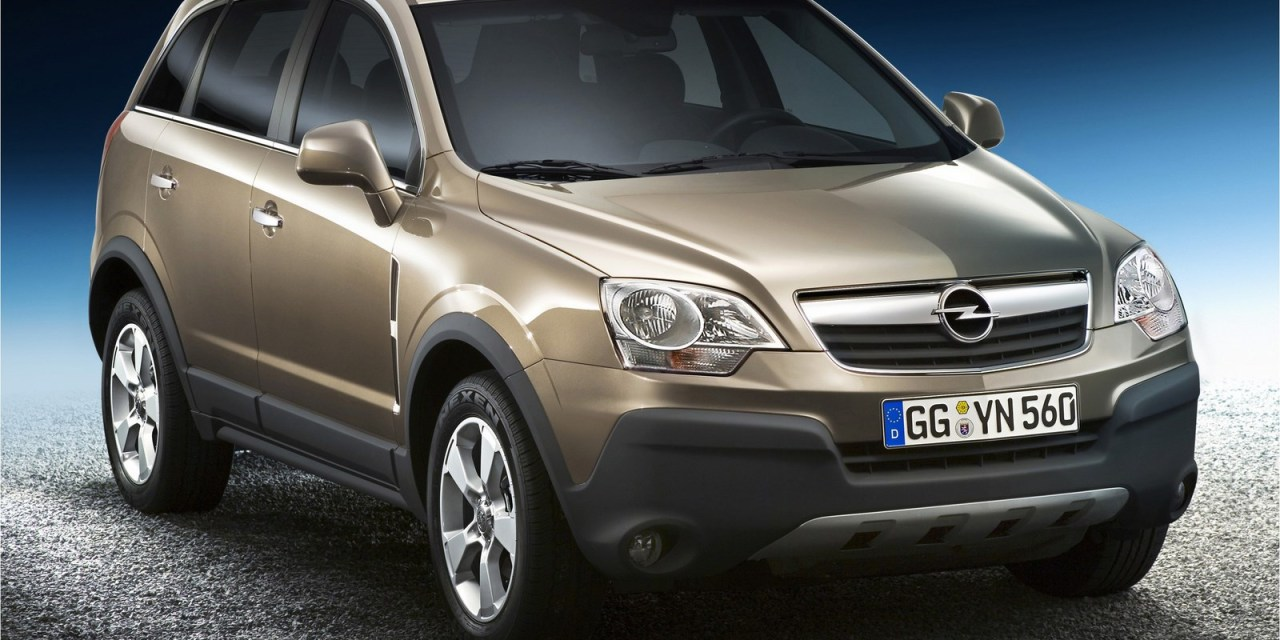 Opel Antara 2014 Review