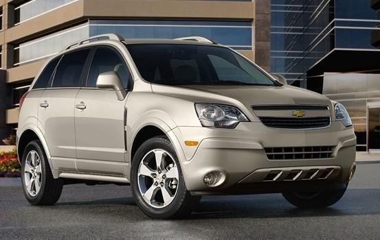 2014 Chevrolet Captiva Sport exterior