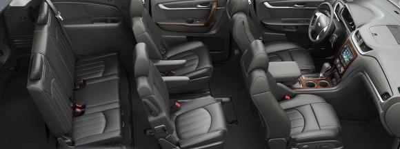 Chevrolet Traverse 2015 interior