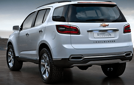 2015 Chevrolet Captiva back