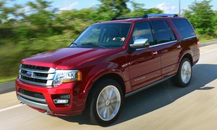 Ford Expedition EcoBoost 4WD 2015 Review