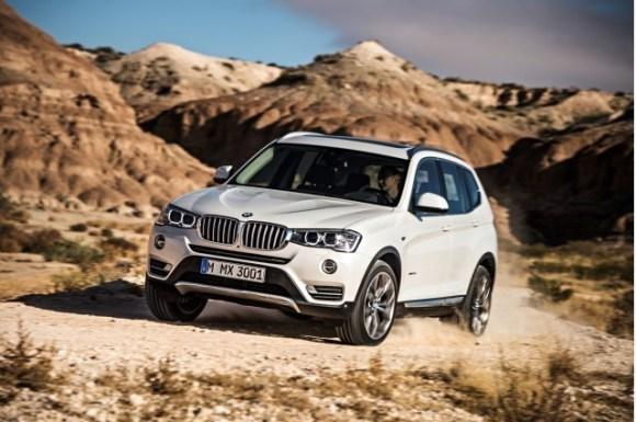 2015 BMW X3 front