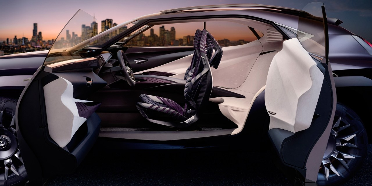 Lexus UX SUV Preview