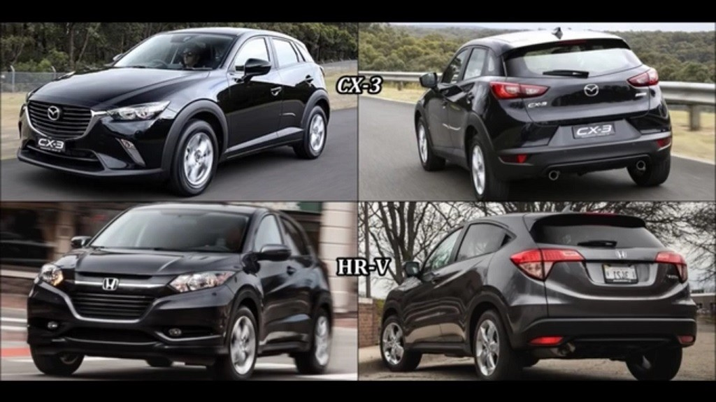 Mazda Cx 3 Vs Honda Hrv >> 2017 Honda Hr V Vs 2017 Mazda Cx 3 Suv Blog