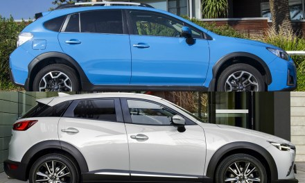 2018 Subaru SV Crosstrek vs 2017 Mazda CX-3