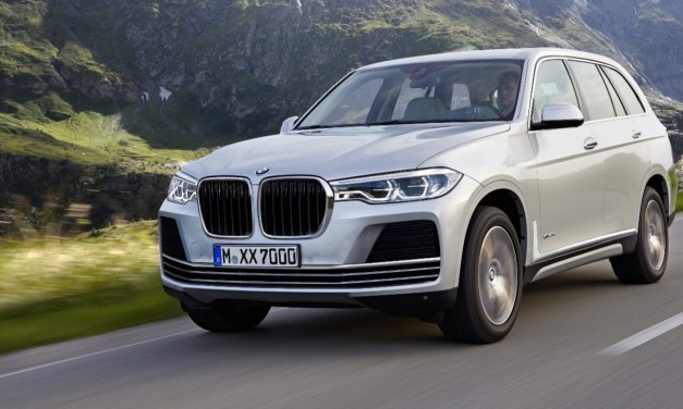 BMW X7 Concept Previews 3 Row Full-Size SUV