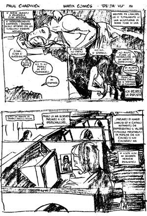 Immagine Paul Chadwick Story Boards
