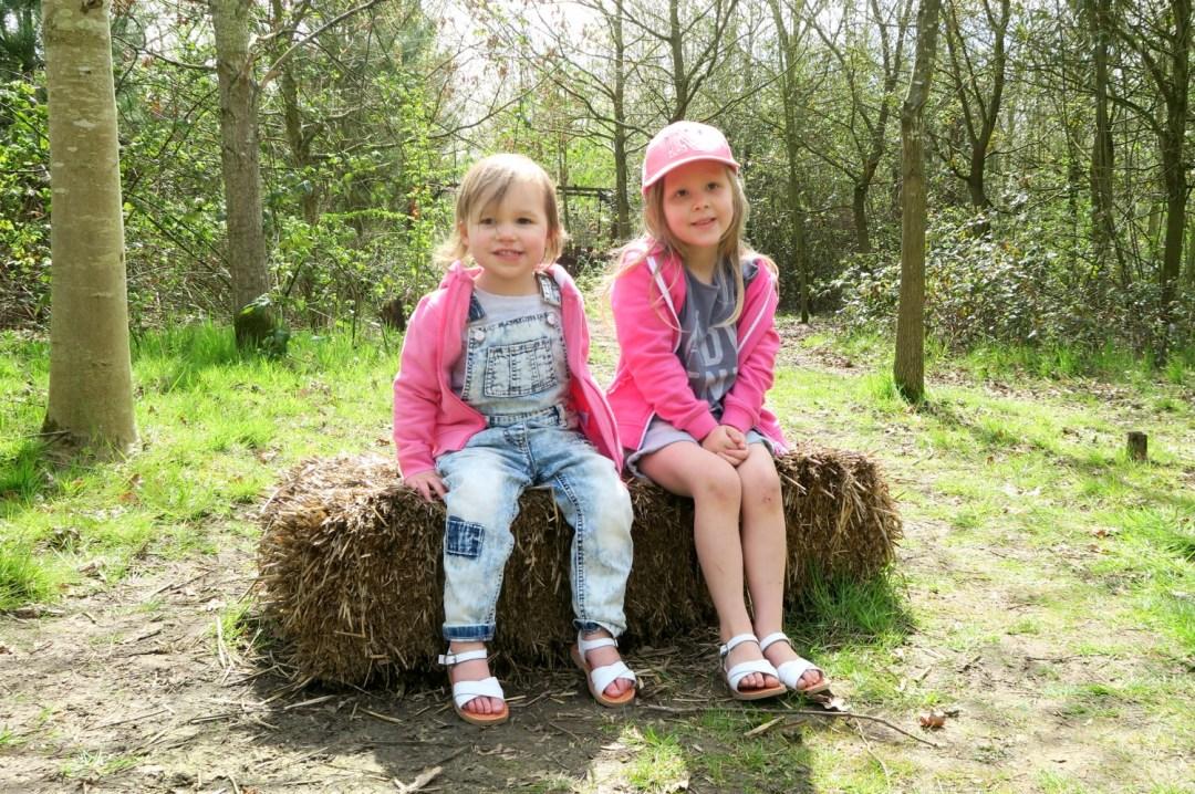 Girls at the farm