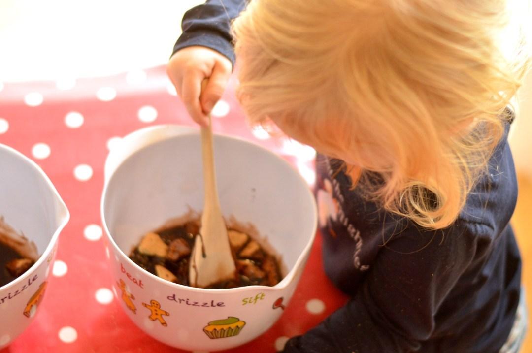 DSC_0174P stirring the chocolate