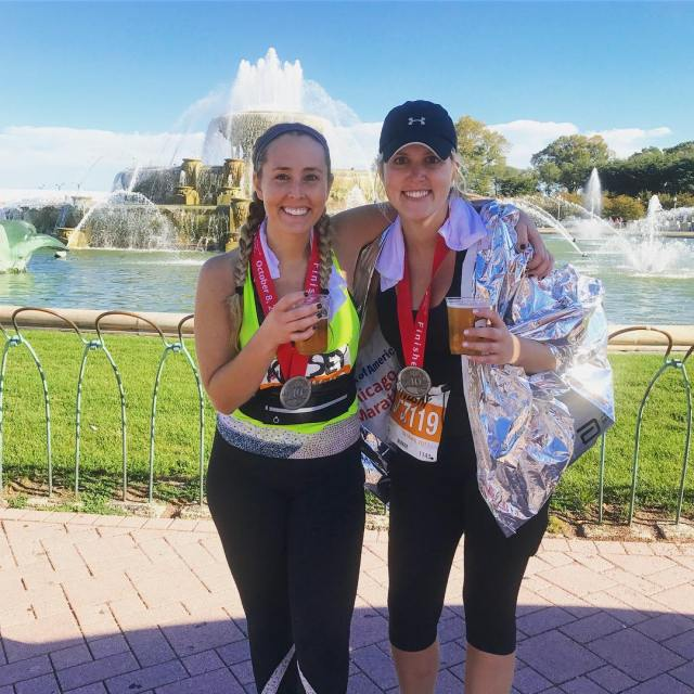 On a scale of 110 were 262 MyChicagoMarathon 26point2 WEDIDIThellip