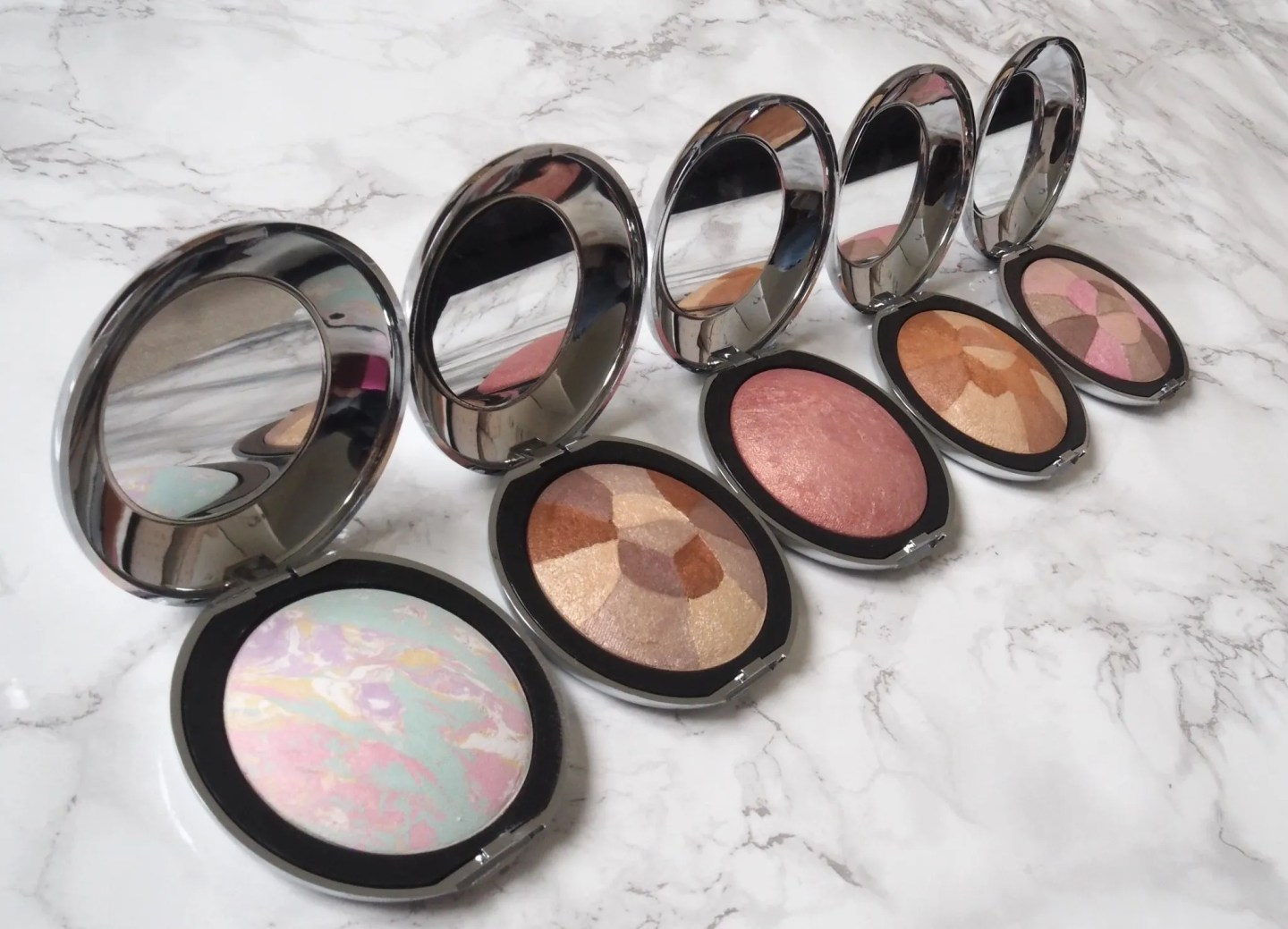 what lizzy loves mineral shimmers blushers