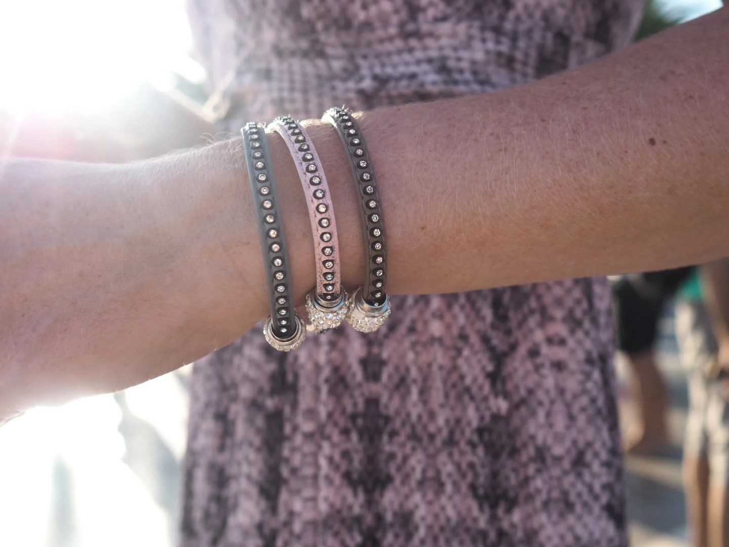 what-lizzy-loves-holidayoutfits-holiday-outfits-pink-wrap-bracelets