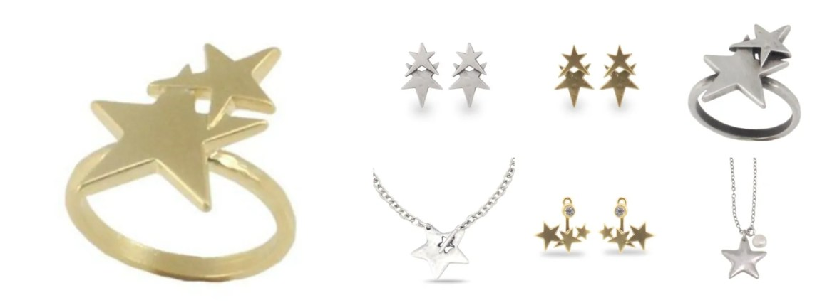 star-necklace-ring-earrings-necklace-danon-jewellery