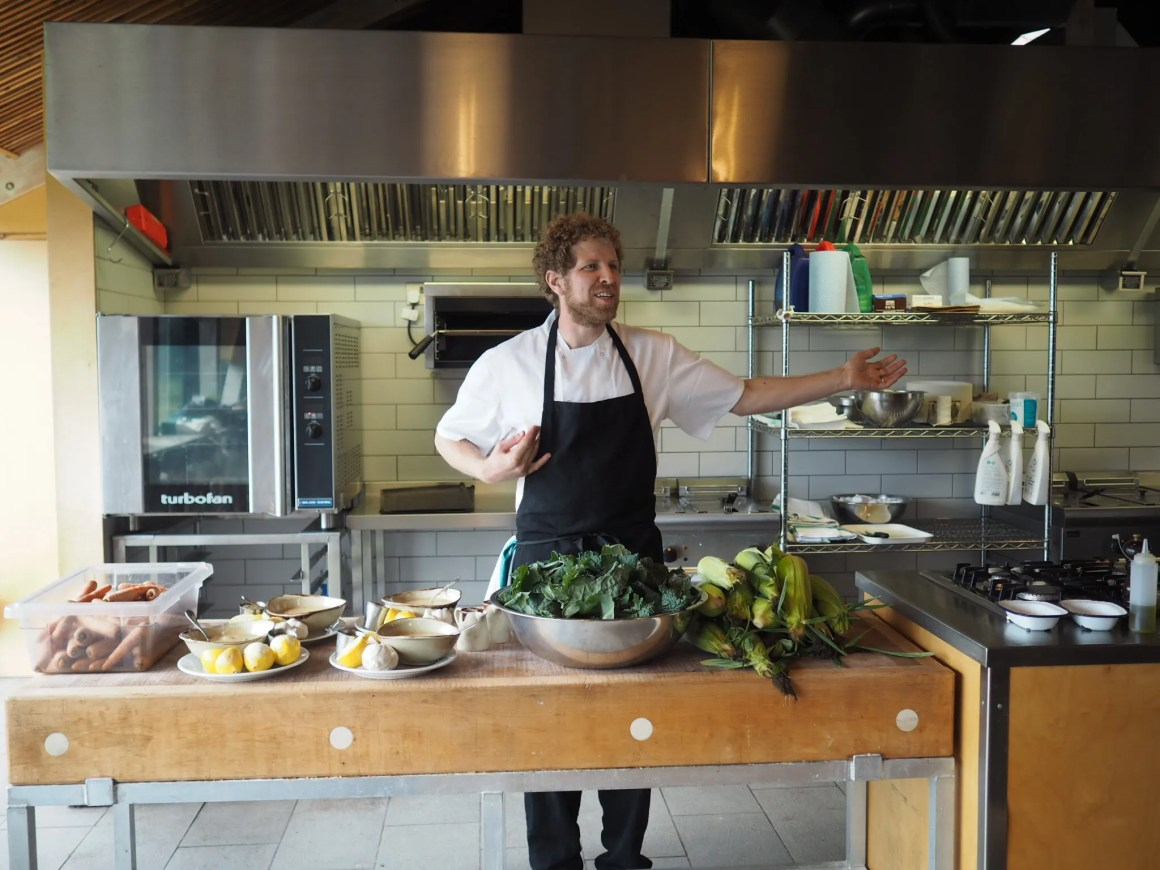 what-lizzy-loves-River-Cottage-cookery-lesson-chef