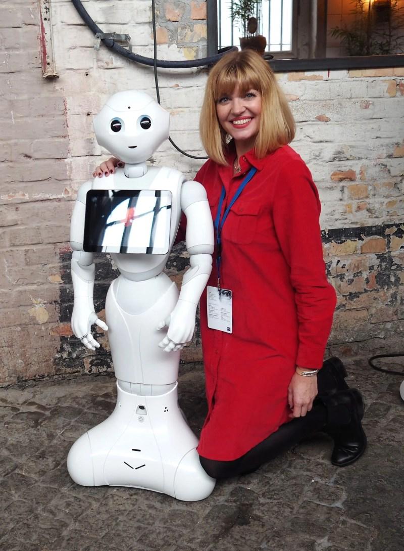 zeiss future of optics berlin Pepper robot