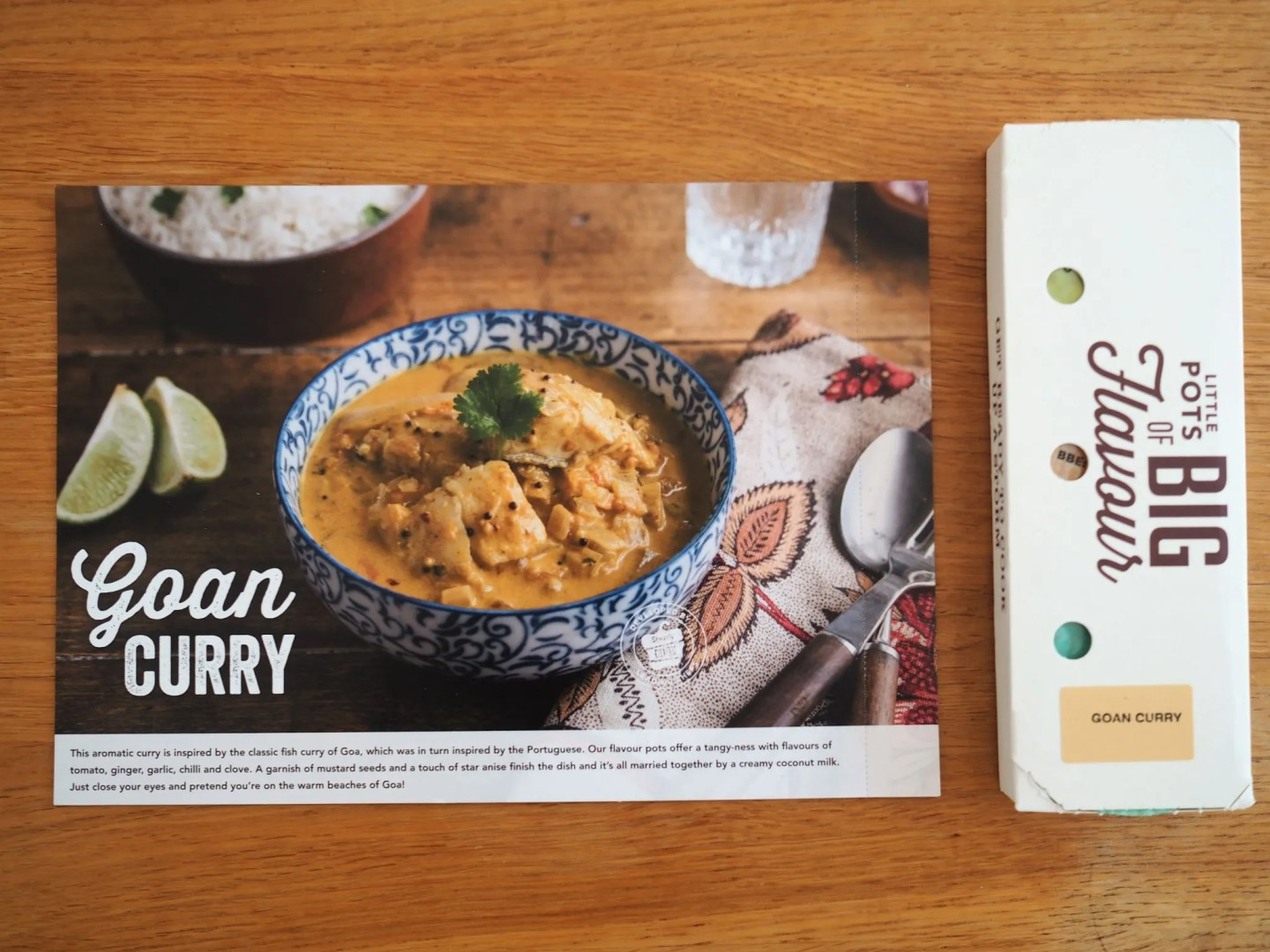 what lizzy loves simply cook recipe box goan curry