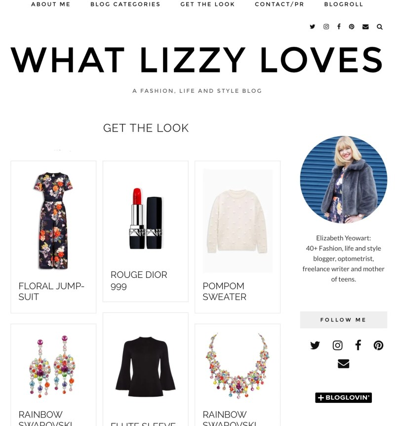 what lizzy loves get the look