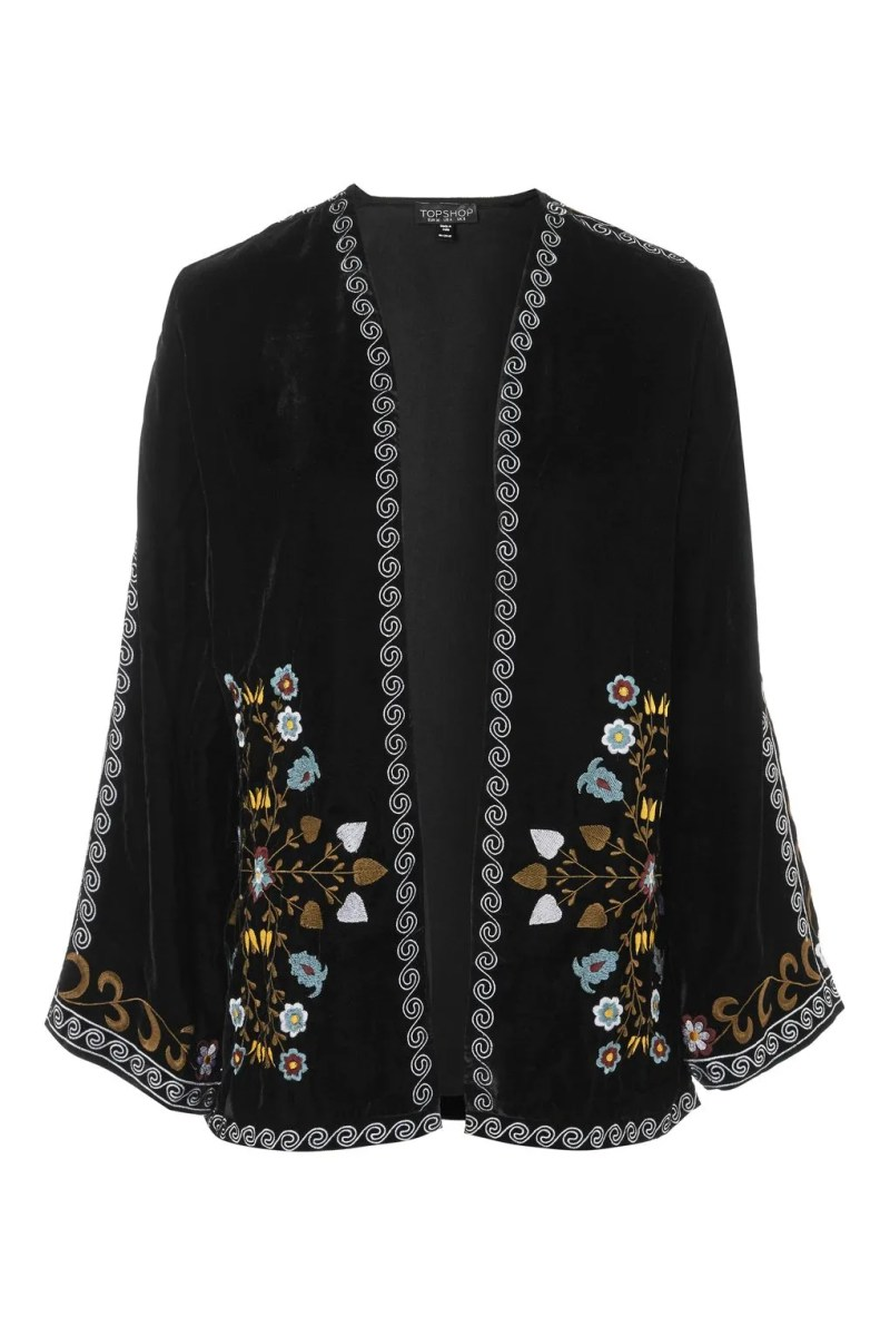 what lizzy loves spring trends embroidery kimono