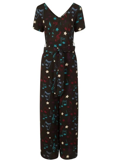 Musical note jumpsuit (now half price)