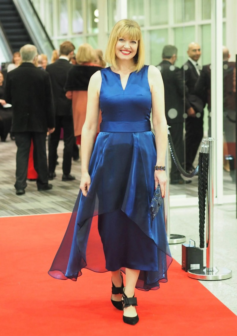 Black Tie Outfit: A Stunning Blue Cocktail Dress