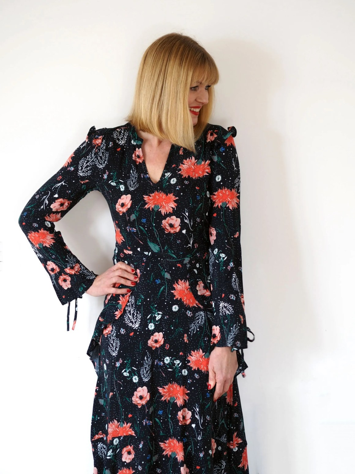what-lizzy-loves-floral-midi-dress-Nine-Debenhams-Savannah-Miller