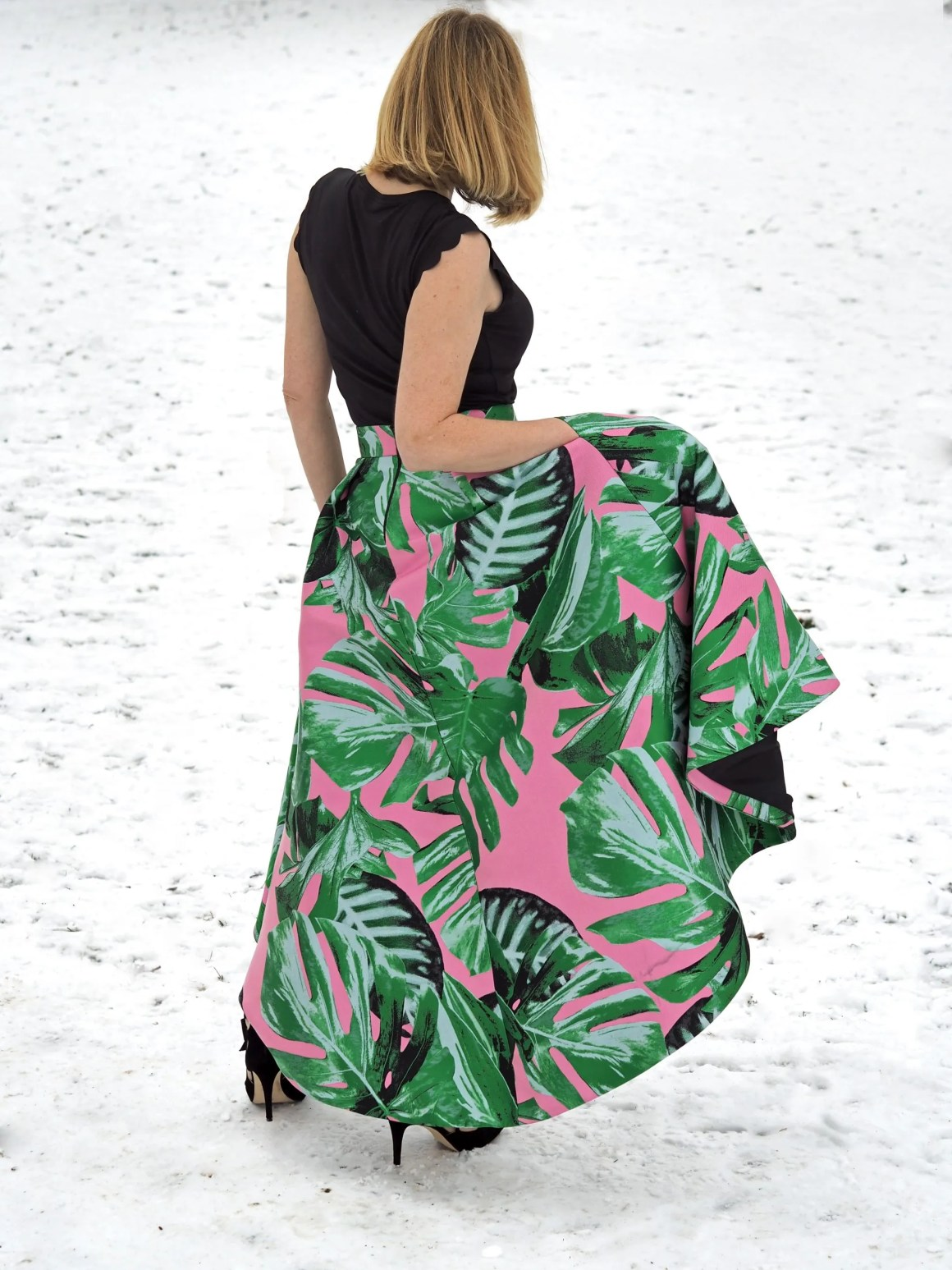 what lizzy loves green and pink party skirt Coast Attatea