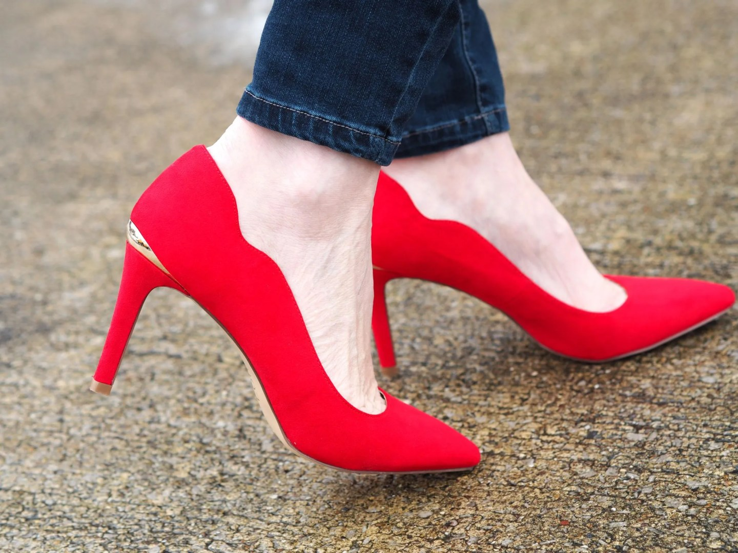 what-lizzy-loves-red-Lotus-court-shoes-gold-trim