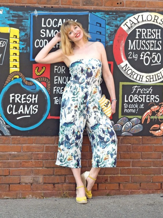 what lizzy loves floral jumpsuit north shields