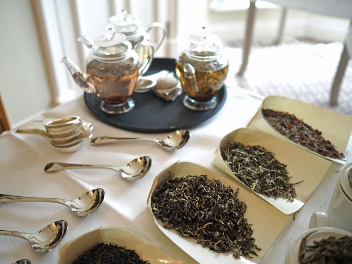 afternoon tea at bettys tea tasting