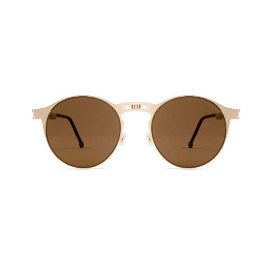 Roav eyewear Balto gold with brown