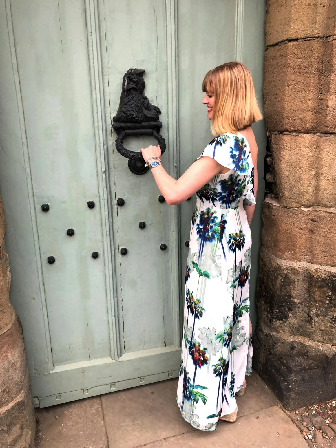 What Lizzy Loves Ripley Castle knocker